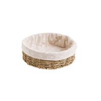 草编收纳筐桌面编织杂物收纳盒浴室置物筐方形收纳篮小篮子