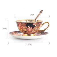 咖啡杯套装欧式小经典复古陶瓷红茶杯子英式下午茶茶具咖啡杯