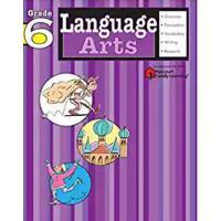 【现货】英文原版 哈考特 语言艺术练习册(语文):6年级 Language Arts: Grade 6 (Flash