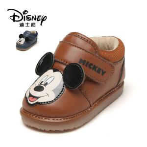 【达芙妮集团】迪士尼 春秋新品魔术贴男童鞋卡通米老鼠休闲鞋