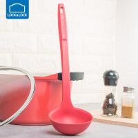 乐扣乐扣不粘锅专用锅铲硅胶铲厨房勺子长柄耐高温护锅勺刮勺厨房用品