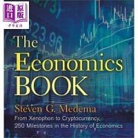 【中商原版】Sterling Milestones: The Economics Book 英文原版 经济学书 Ste