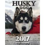 【预订】Husky Dog 2017 Wall Calendar