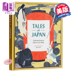 【中商原版】日本民间精选故事集 英文原版 Tales of Japan: Traditional Stories of