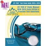 【中商海外直订】ATI TEAS Test Study Guide 2018 & 2019: ATI TEAS 6 S