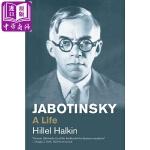 【中商原版】弗拉基米尔・亚博京斯基:一生(传记)英文原版 Jabotinsky: A Life