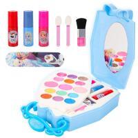 儿童化妆品公主彩妆盒套装冰雪奇缘女孩玩具小孩子口红