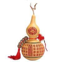 工艺品天然葫芦五帝钱纯铜钱真品风水摆件家居装饰挂件开咣中国结工艺礼品开业