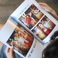 相册定制 12寸个性杂志册照片制作照片书定制相册书宝宝婚纱照写真影集 66P杂志册【70-252张 超大容量】 其它