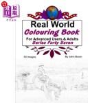 【中商海外直订】Real World Colouring Books Series 47