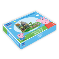 小猪佩奇立体拼插书:佩奇的别墅