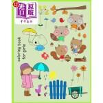 【中商海外直订】Beautiful Doodles Coloring Book for Girls: Create a