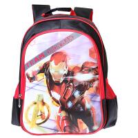 迪士尼( Disney)美国队长小学生书包男 3-6年级双肩儿童EVA防泼水背包 BA5048B红色 当当自营