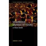 【预订】Venomous Snakes of Texas: A Field Guide