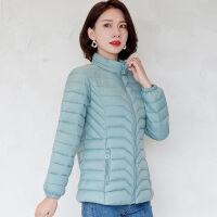 女短款韩版大码修身显瘦小个子妈妈装轻薄棉袄冬季外套女