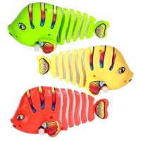 会动会跑上链发条玩具小动物摇摆鱼婴儿宝宝儿童幼儿园小玩具礼物