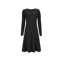 【网易严选 顺丰配送】女式V领羊毛修身连衣裙