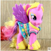 小马宝莉水晶彩虹装饰  紫悦 烁烁音韵公主女孩玩具礼物