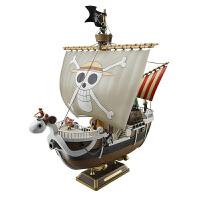 新款万代模型 航海王 海贼船 Going Merry 黄金梅丽号 梅里号 海贼王品质定制 现货