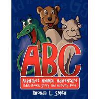 【预订】Alphabet Animal Adventure: Educational Story and Activit