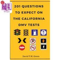 【中商海外直订】201 Questions to Expect on California DMV Test