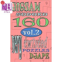 【中商海外直订】Jigsaw Sudoku vol 2: 160 very twisted puzzles