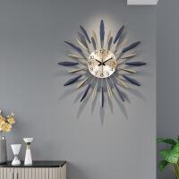 钟表挂钟客厅创意现代简约时钟个性大气家用时尚装饰艺术北欧 新心光 大号 其他