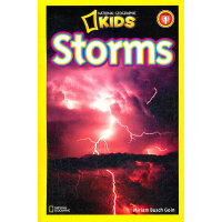 National Geographic Readers,Level 1: Storms 美国《国家地理》杂志-儿童科普