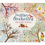 英文原版 交响乐团发声书:维瓦尔第四季音乐故事 有声绘本 The Story Orchestra: Four Seas