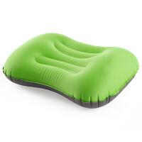 按压充气枕头 便携坐车户外旅行午睡午休靠枕护颈枕