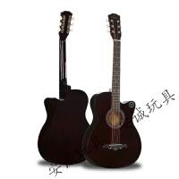 20190516165743090民谣吉他单板吉他初学者学生用 38寸吉他男女生款民谣木吉他入门乐器