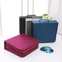 CD盒 256片装大容量光碟收纳包高档丝光布CD包双面光盘盒