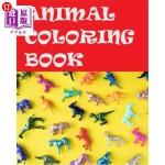 【中商海外直订】Animal Coloring Book