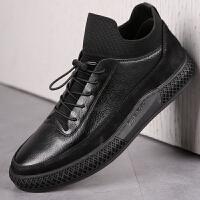承发 休闲男皮鞋户外运动鞋高帮时尚软底舒适鞋子男 80829