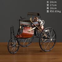 复古老爷车摆件年一代奔驰汽车铁艺模型家居客厅酒柜软装饰品 TM-912