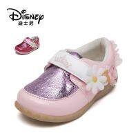 【达芙妮年货节】迪士尼 童鞋儿童棉鞋女童冬季加绒运动鞋中小童休闲