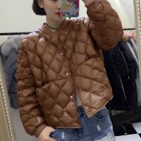 2019秋季冬装羽绒服女短款学生韩版宽松女士轻薄外套矮小个子