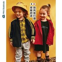 【2件4折】迷你巴拉巴拉儿童外套男童街头风便服秋季新品女宝宝潮酷上衣