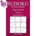 【中商海外直订】300 Easy to Hard Sudoku Puzzle Book