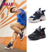 【券后价:189.4元】百丽童鞋男童运动鞋2021春款时尚休闲儿童鞋网鞋透气网面鞋子