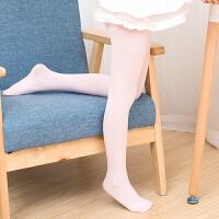 儿童连裤袜春秋学生舞蹈袜夏薄款女童打底裤女孩白色丝袜子