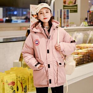 2018秋冬新款棉服韩版时尚休闲户外滑雪服短款外套女棉服