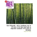 【中商海外直订】Cabot Bibliography: With an Introductory Essay on t