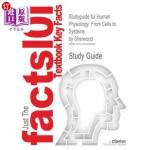 【中商海外直订】Studyguide for Human Physiology: From Cells to Syst