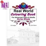 【中商海外直订】Real World Colouring Books Series 90