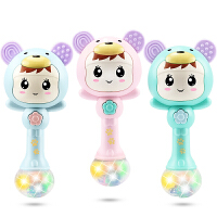 音乐沙锤节奏棒0-3-6-12早教宝宝益智婴儿摇铃玩具0-1岁手抓摇铃