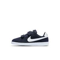 Nike/耐克 833536 幼童运动童鞋 魔术贴休闲运动童鞋 NIKE COURT ROYALE (PSV)
