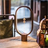 【教师节礼物】智能磁吸悬浮平衡灯 抖音同款智能黑科技平衡灯磁吸小夜灯磁悬浮创意台灯送老婆女友情