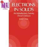 【中商海外直订】Electrons in Solids: An Introductory Survey