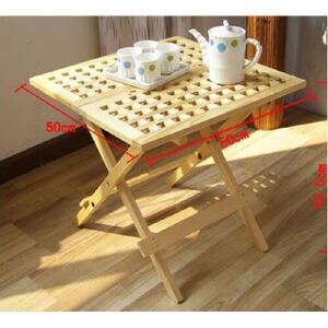 索客  网格收折小方桌 茶几桌 懒人桌